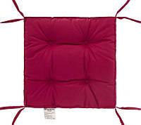 "Мягкая подушка ""COLOR"" на стул (лиловый) 40х40х5 тм DOTINEM"