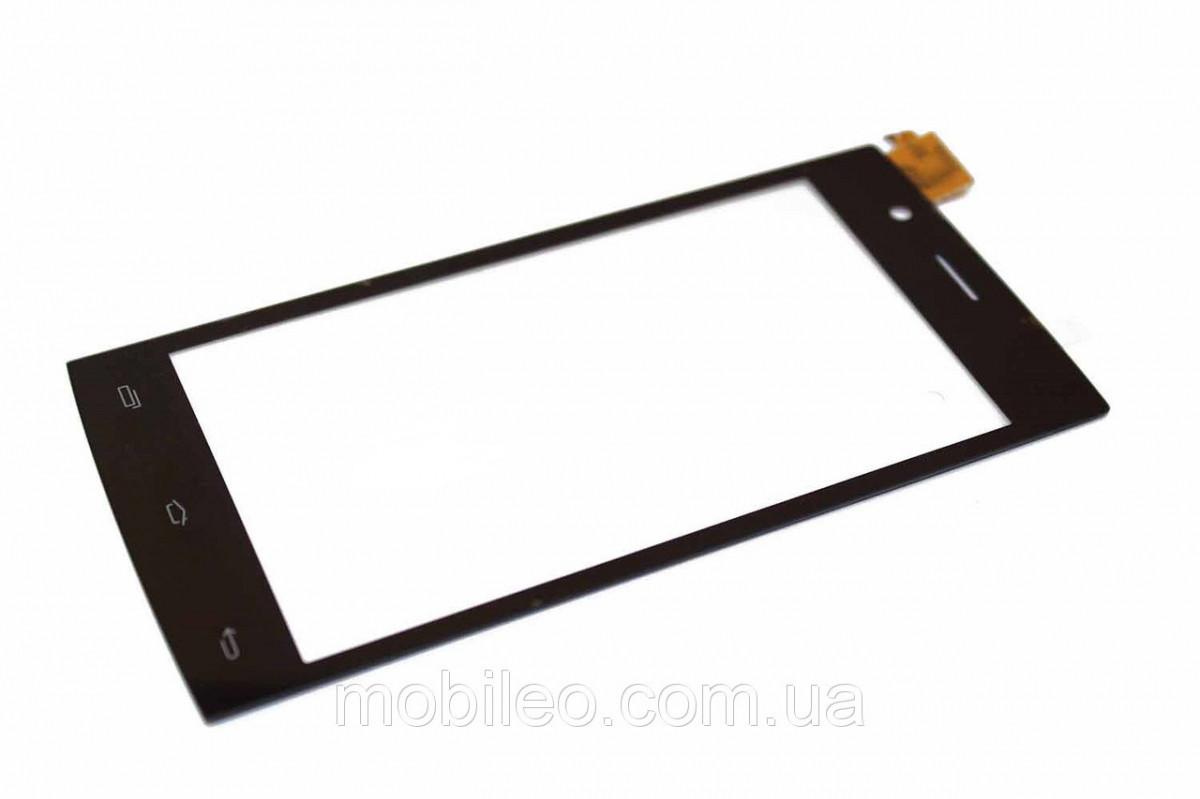 Сенсорный экран (тачскрин) Fly FS451 Nimbus 1 чёрный ориг. к-во