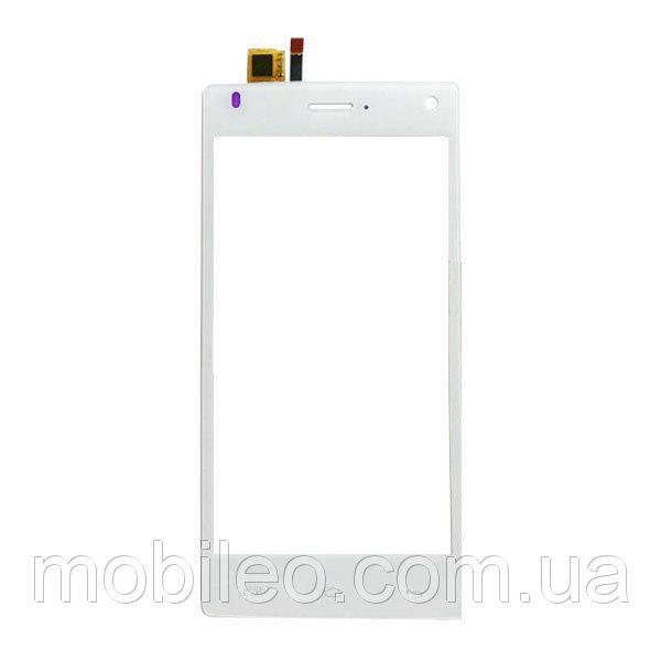 Сенсорный экран (тачскрин) Fly FS452 Nimbus 2 white ориг. к-во