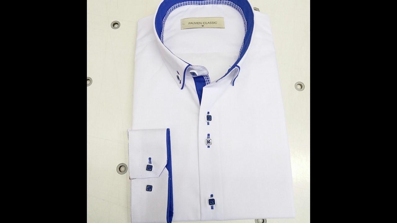 Распродажа!!!Рубашка однотонная Palmen