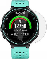 Защитное стекло Garmin Forerunner 235 (Прозрачное 2.5 D 9H) (Гармин Форераннер 235)