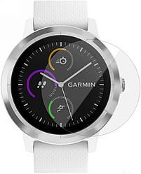 Защитное стекло Garmin Vivoactive 3 (Прозрачное 2.5 D 9H) (Гармин Вивоактив 3)