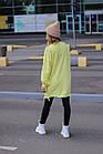 Женский зимний теплый свитшот оверсайз трехнитка черный белый зелёный красный желтый универсальный, фото 5