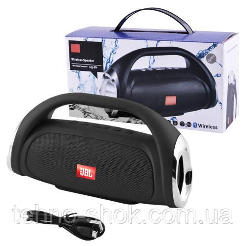 Bluetooth-колонка JBL BOOMBOX SMALL LQ-09 (с фонарем), c функцией speakerphone, Power Bank, радио