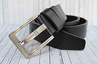 Кожаный мужской ремень Tommy Hilfiger 4 см