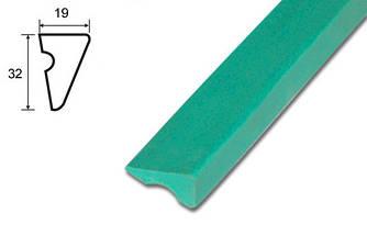 Резина для бортов U56 100см 6шт