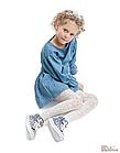 ОПТОМ Колготки для девочки Snow White, белые (128-134 / 8-9 лет)  Knittex 5906906004546, фото 2