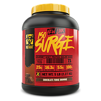 Mutant Iso Surge 2.27 kg ( cookies and cream, vanilla, strawberry, chocolate, banana, chocolate peanut butter)