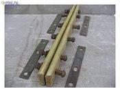 Накладки стыковые изолирующие для рельс Р65