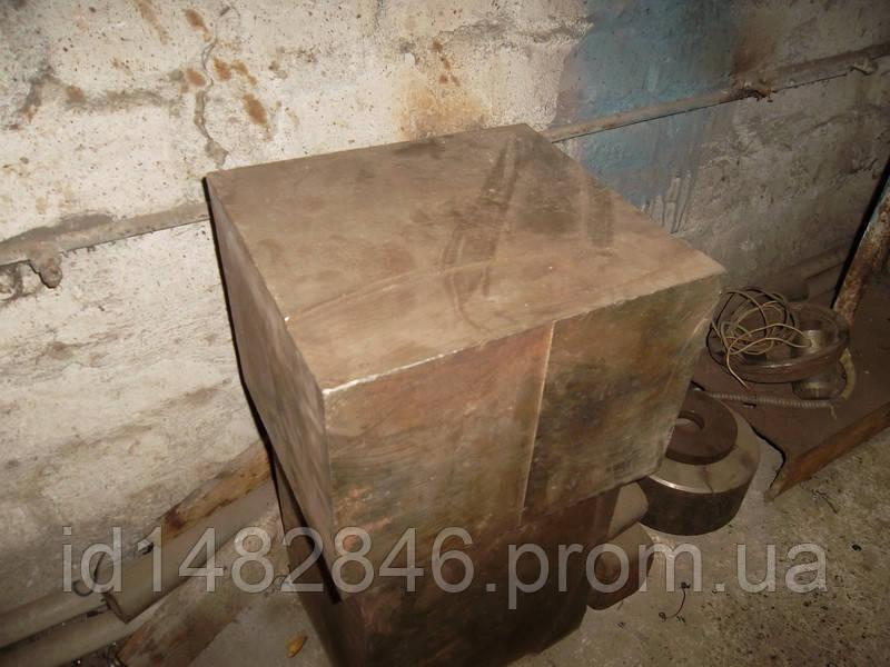 Кубик, заготовка, болванка металлическая 250х270х200
