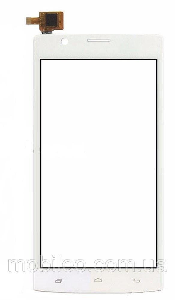 Сенсорный экран (тачскрин) Fly FS501 Nimbus 3 white ориг. к-во