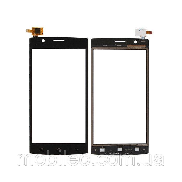 Сенсорный экран (тачскрин) Fly FS501 Nimbus 3 чёрный ориг. к-во