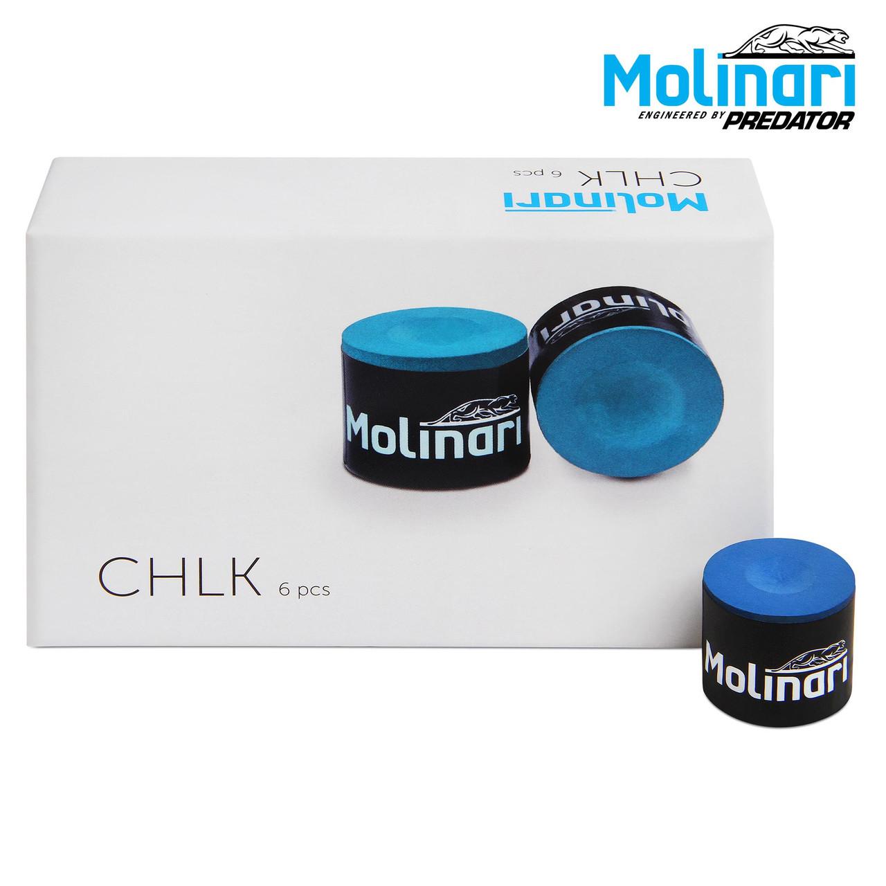Мел Molinari Chlk синий 1шт