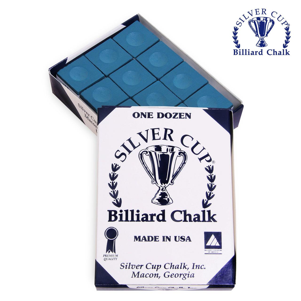 Крейда SILVER CUP BLUE 12шт
