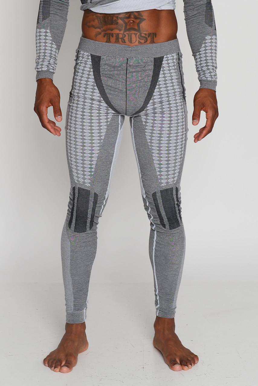 Мужские термоштаны с шерстью альпаки HASTER ALPACA WOOL зональное бесшовное шерстяное термобелье SportLavka