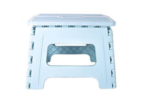 Табурет раскладной Stenson R87945 30х24х22 см, синий, фото 2