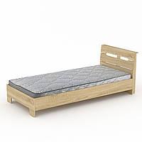 Кровать 90 Стиль дуб сонома Компанит (94х213х95 см)