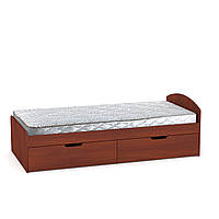 Кровать 90+2 яблоня Компанит (94х204х95 см)