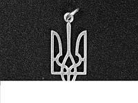 Кулон большой Трезуб герб Украина патриотический 04