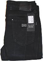Джинсы мужские Li Feng,W36 L34,Черные,Стрейч.Классика.