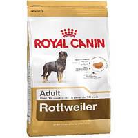 Сухой Корм Royal Canin Rottweiler Adult Для Взрослых Собак Породы Ротвейлер Старше 18 Месяцев, 3 Кг