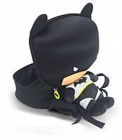 Детский рюкзак Ridaz Batman-EVA Original плюшевый black