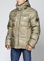 Куртка-Пуховик чоловіча оливкова М «Zuelements» (Італія)