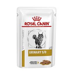 Влажный Корм Royal Canin Urinary S/o Для Взрослых Кошек С Мочекаменной Болезнью, 85 Г