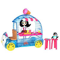 """Игровой набор """"Фургончик мороженого  Пингвины """"Mattel Enchantimals FKY58, фото 1"""