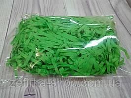 Бумажный наполнитель для коробки, цвет зеленый