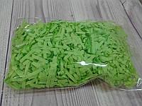 Бумажный наполнитель для коробки, цвет салатовый, фото 1