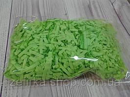 Бумажный наполнитель для коробки, цвет салатовый