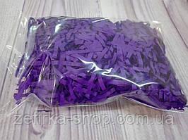 Бумажный наполнитель для коробки, цвет темный фиолет