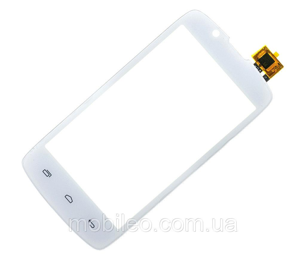 Сенсорный экран (тачскрин) Fly IQ4490 Era Nano 4 white ориг. к-во
