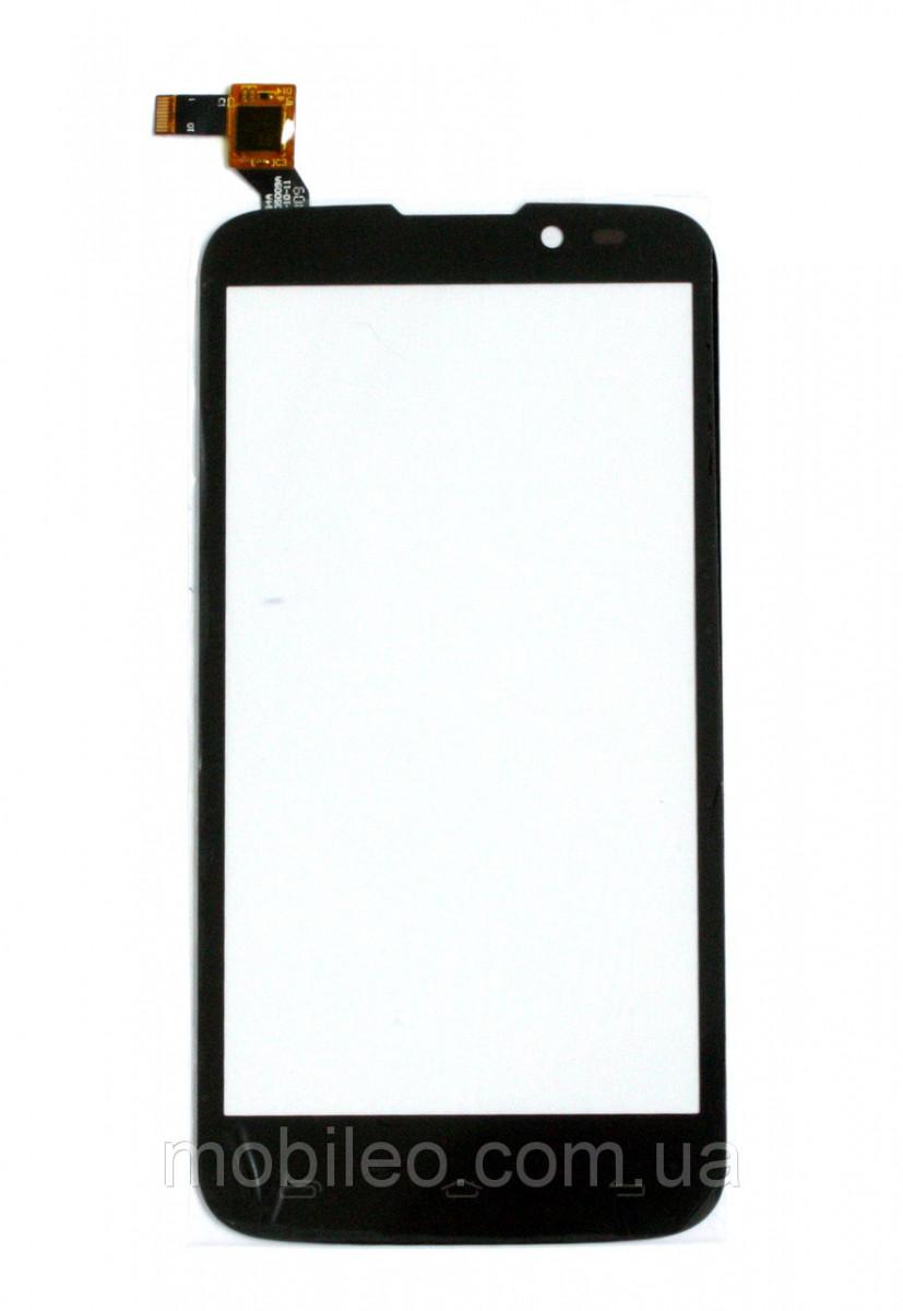Сенсорный экран (тачскрин) Fly IQ4502 Quad Era Energy 1 чёрный ориг. к-во