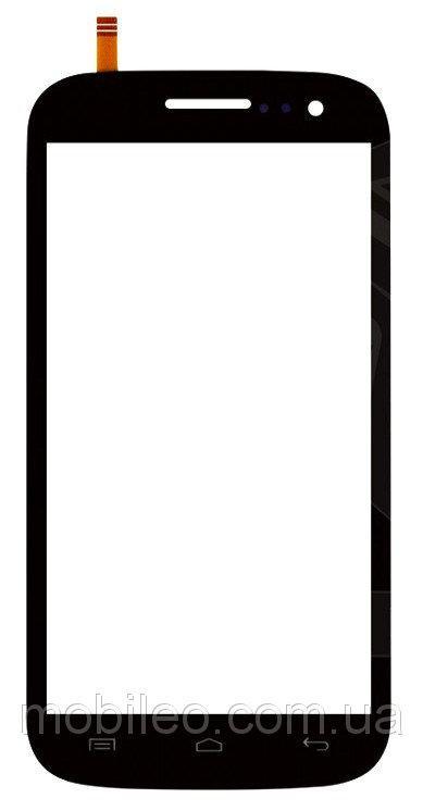 Сенсорный экран (тачскрин) Fly IQ451 Vista чёрный ориг. к-во