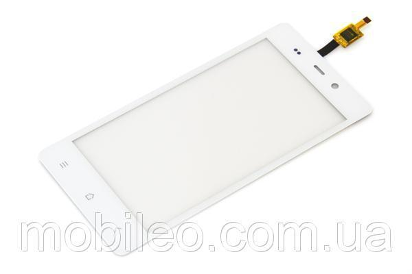 Сенсорный экран (тачскрин) Fly IQ453 Quad Luminor Fhd white ориг. к-во