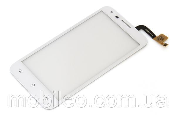 Сенсорный экран (тачскрин) Fly IQ454 Evo Tech 1 white ориг. к-во
