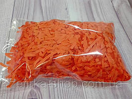Бумажный наполнитель для коробки, цвет темный оранж
