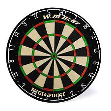 Дартс профессиональный Winmax Match Play + набор из 6 металлических дротиков, фото 3
