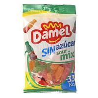 """Желейные конфеты """"Damel Sin azucar Sour Mix"""", без сахара, 100 г"""