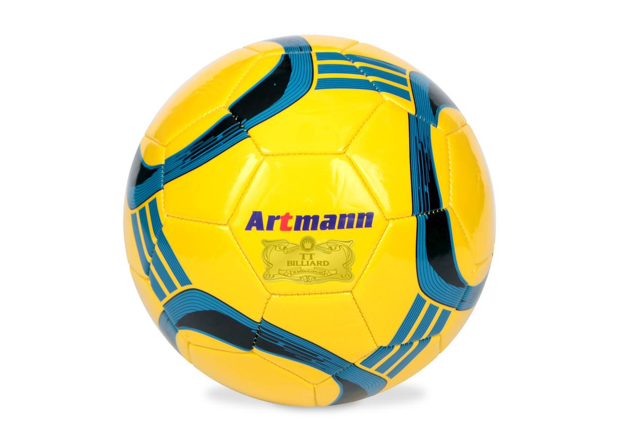 Футбольный мяч ARTMANN (желтый)
