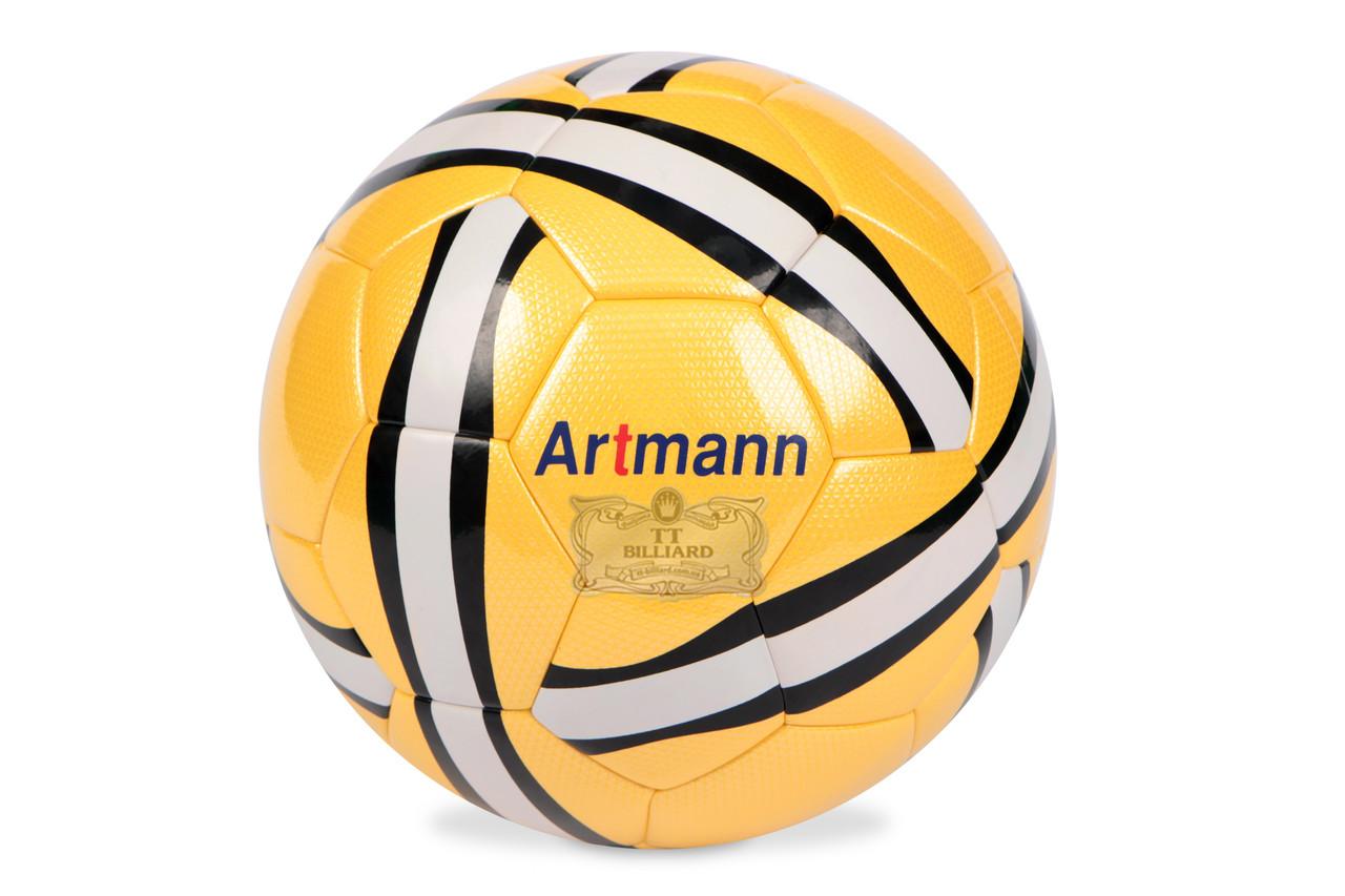 Футбольный мяч ARTMANN (светло-желтый)