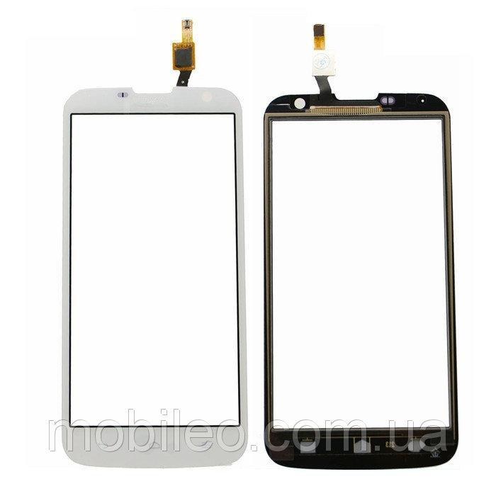 Сенсорный экран (тачскрин) Huawei Ascend G730-U10 white ориг. к-во