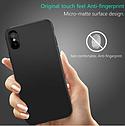 Чехол-накладка ультратонкий 0.3mm для Apple iPhone XS\ X силиконовый матовый (черный), фото 4