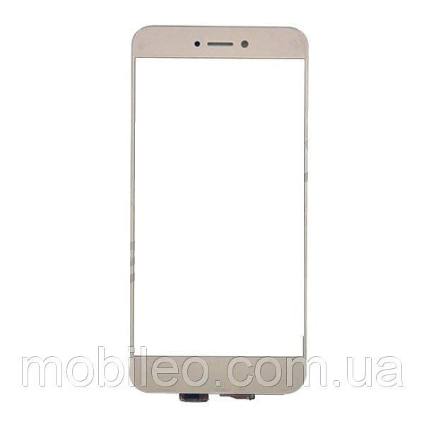Сенсорный экран (тачскрин) Huawei P8 Lite (2017) GR3 (2017) Honor 8 Lite Nova Lite (2016) золотистый