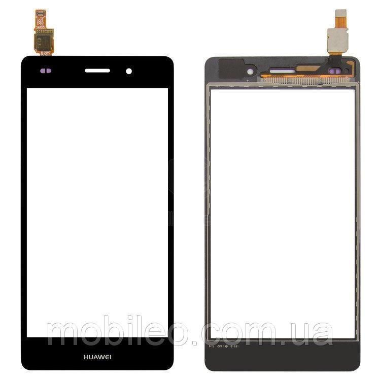 Сенсорный экран (тачскрин) Huawei P8 Lite Ale L21 чёрный