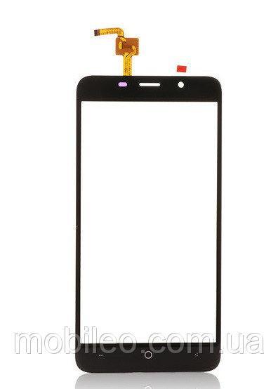 Сенсорный экран (тачскрин) Leagoo M5 Plus чёрный