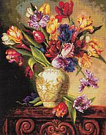 DIMENSIONS Набор для вышивания Попугайные тюльпаны / Parrot Tulips