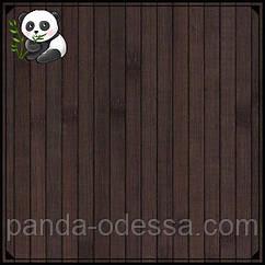 """Бамбуковые обои """"Венге"""", 2 м, ширина планки 12 мм / Бамбукові шпалери"""